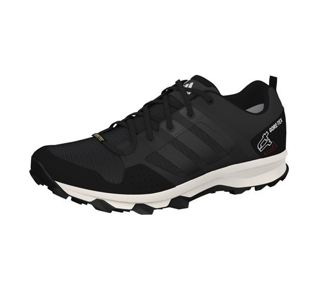 0f3ac0c58838 Adidas Men s Kanadia 7 TR GTX Trail Runner Black Dark Grey - Shop now