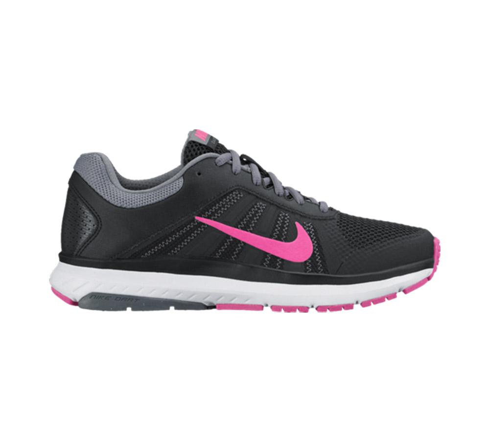 f38cb5c02ac7 Nike Women s Dart 12 Running Shoe Black Pink - Shop now   Shoolu.com