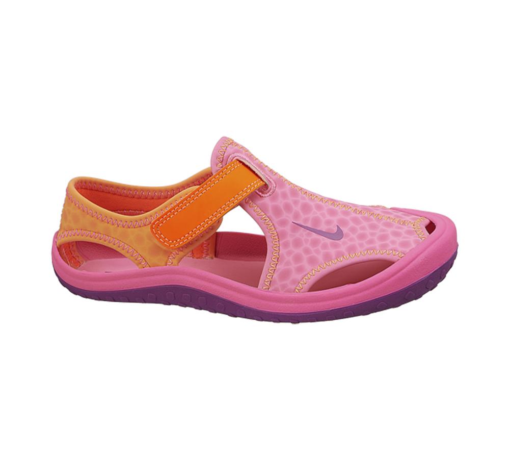 16256cf6e Nike Girl s Sunray Protect Sandal Pink Total Orange - Shop now   Shoolu.com