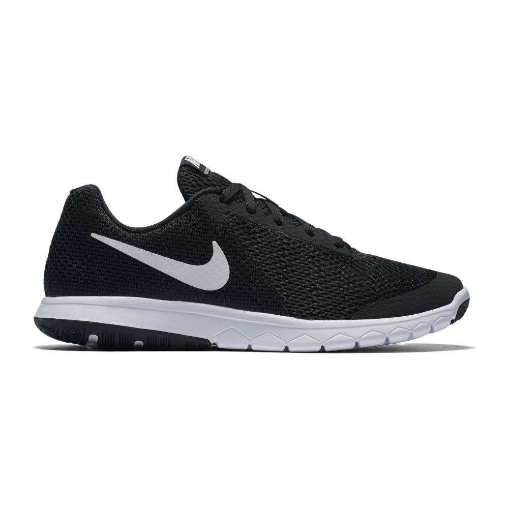 2bac4e0ae11c5 Nike Women s Flex Experience RN 6 Running Shoe Black White - Shop now    Shoolu