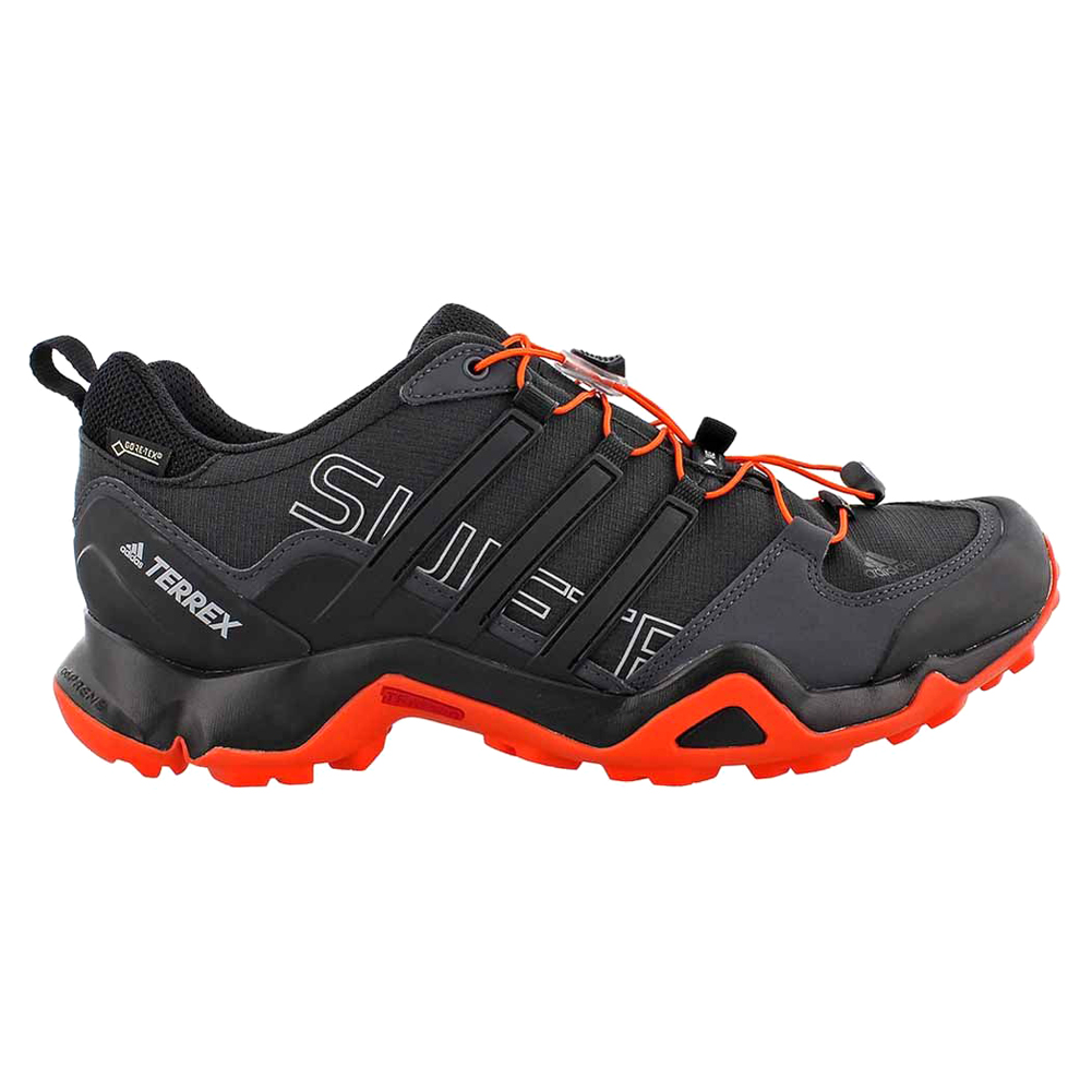 e30ce5eed44 Adidas Men s Terrex Swift R GTX Hiking Shoe Black Energy - Shop now   Shoolu