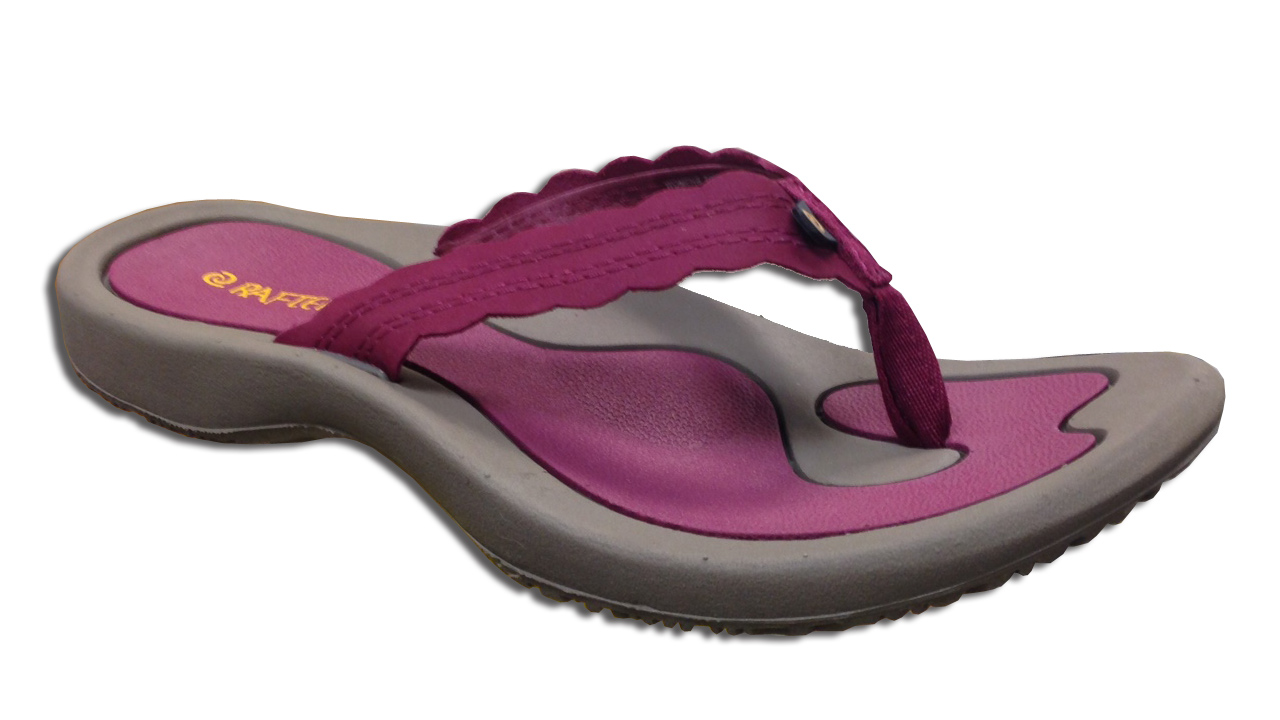 8e2512714 Rafters Women s Breeze Smooth Flip Flops Wine - Shop now   Shoolu.com