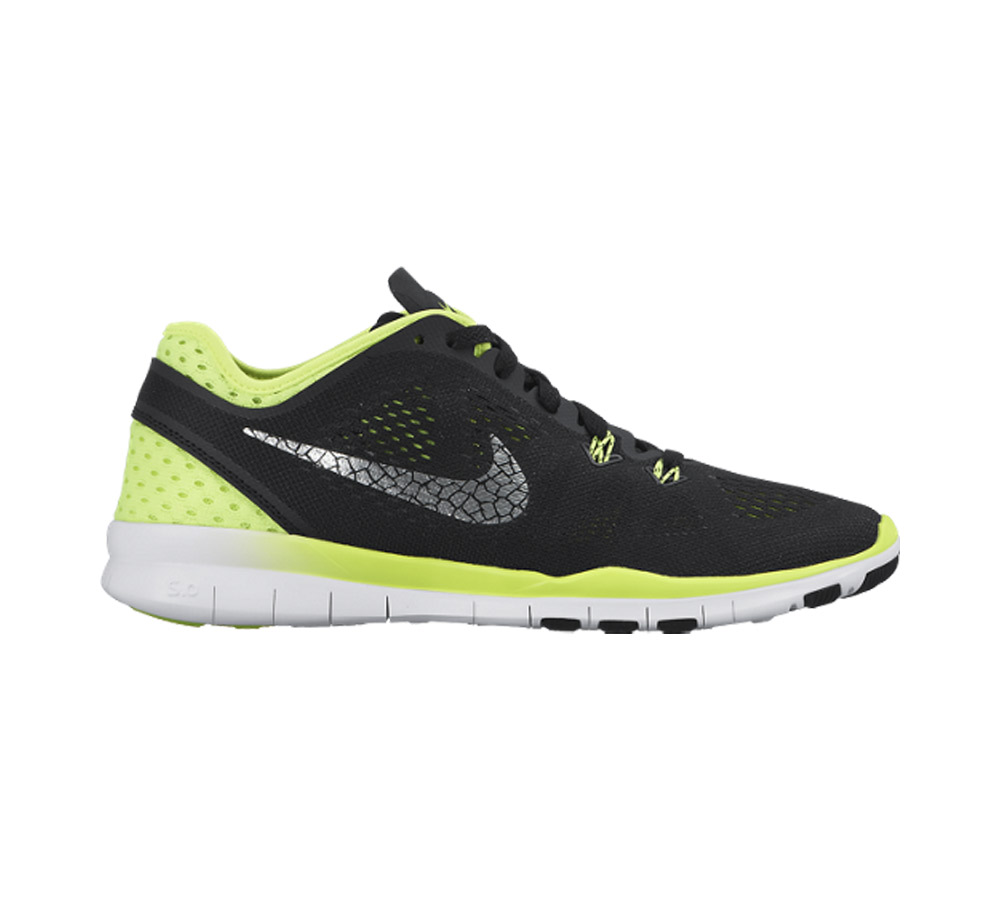 bf03b364df15 Nike Women s Free 5.0 TR Fit 5 Breathe Cross Trainer Black Sil Volt -