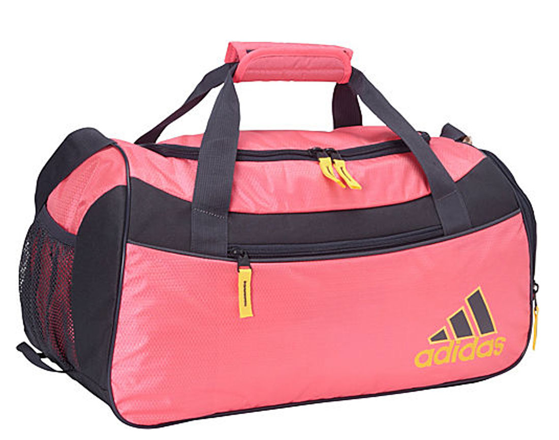 781e4749d4 Adidas Squad II Duffel Bag Solar Pink Mercury Grey Solar Gold - Shop now