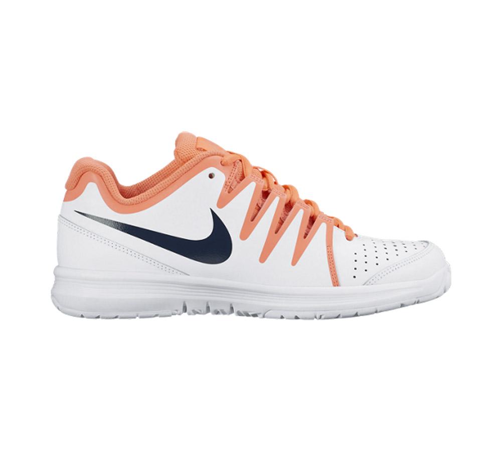 94f6a1a32649 Nike Men s Vapor Court Tennis Shoe White Mango - Shop now   Shoolu.com