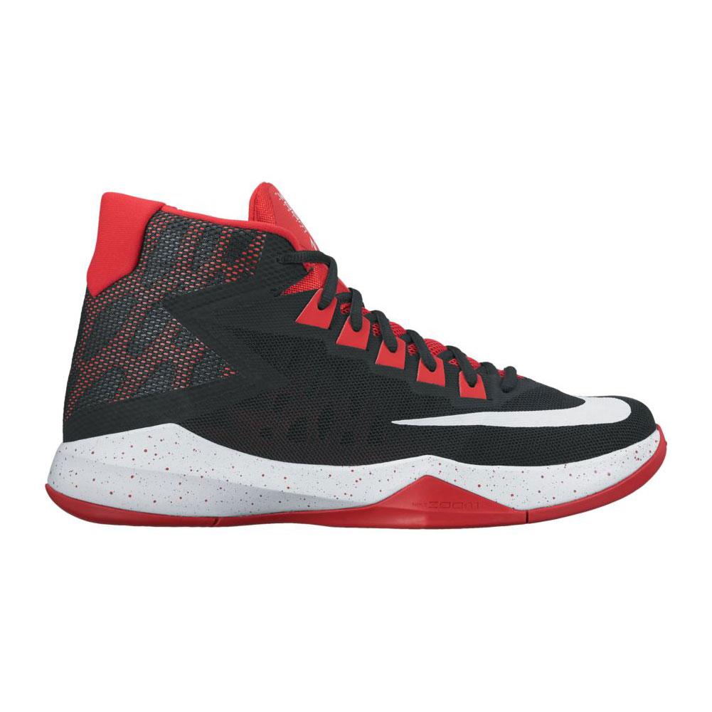 fd5cdb5a86f2a Nike Men s Zoom Devosion Basketball Shoe Black University Red - Shop now    Shoolu.