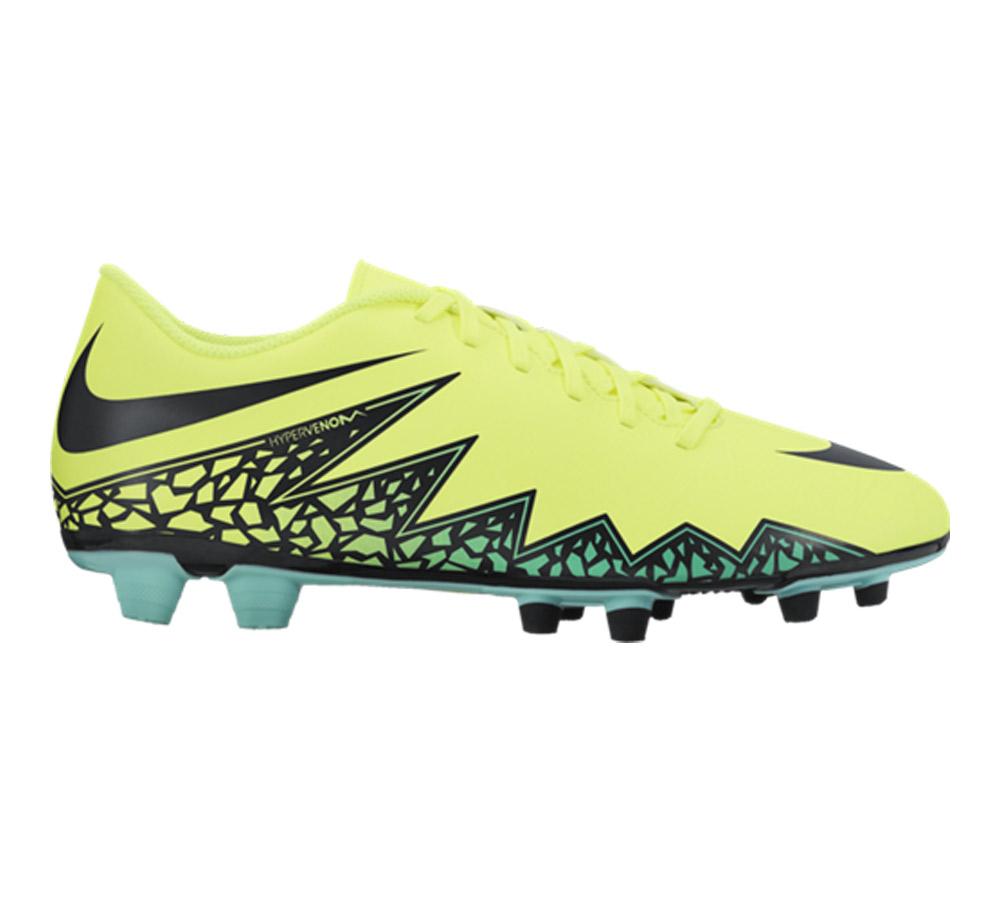 76661b045a3b Nike Men s Hypervenom Phade II FG Soccer Cleat Volt Black - Shop now    Shoolu