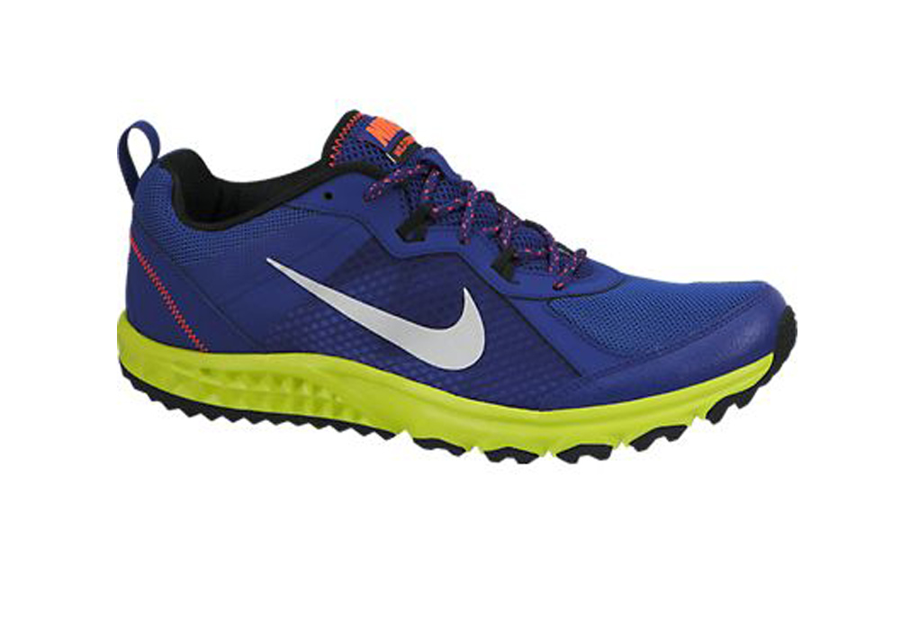b60ad414cd3 Nike Men s Wild Trail Running Shoes Royal Blue Venom - Shop now   Shoolu.