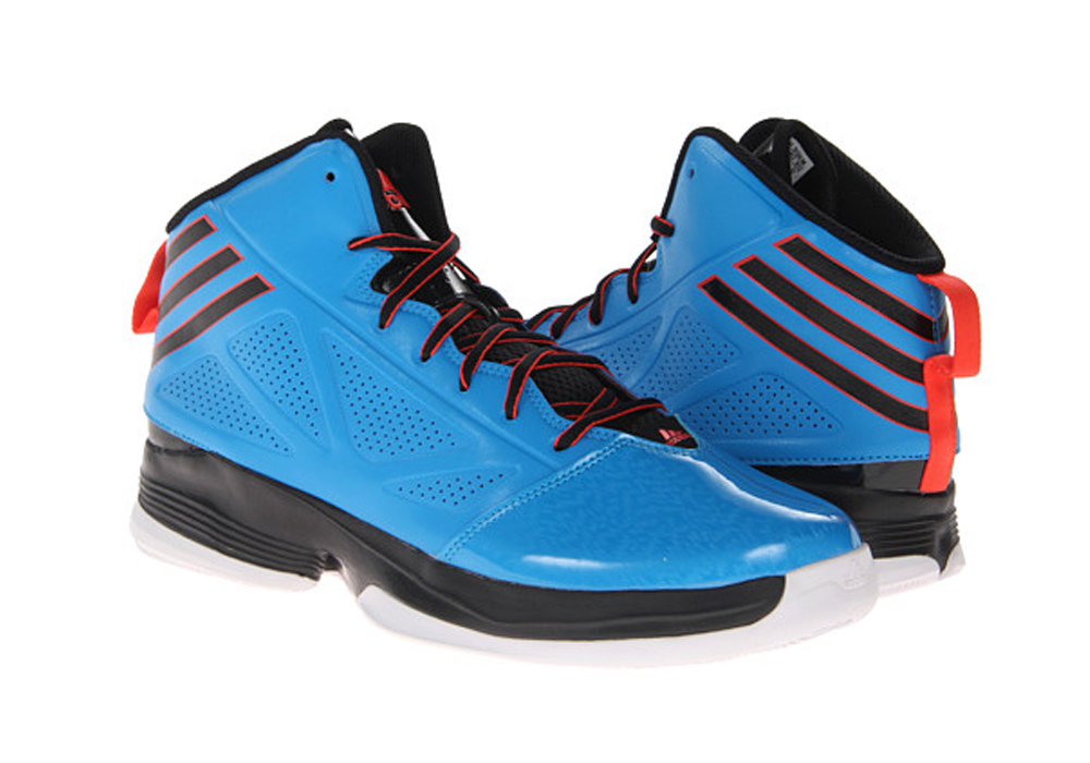 27b73f70387ec Adidas Men s Mad Handle 2 Basketball Shoes Solar Blue Black Red - Shop now