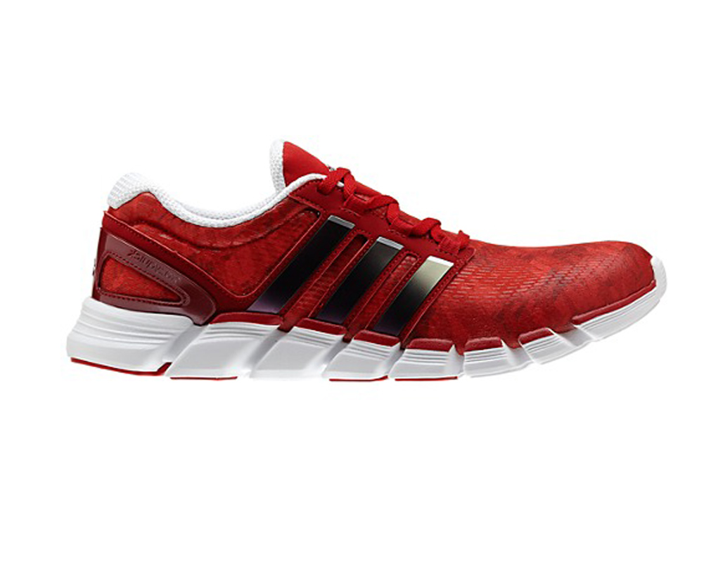Adidas Men s Adipure Crazy Quick Running Shoes Red White - Shop now    Shoolu. fc35dee84c