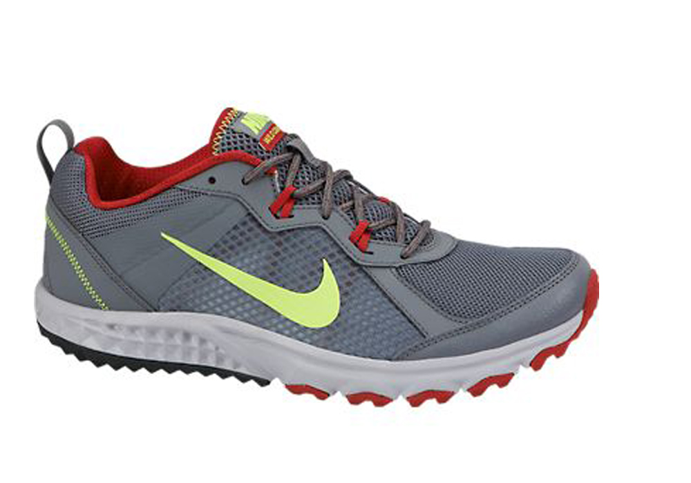 6a3fbeafd0f Nike Men s Wild Trail Running Shoes Grey Gym Red - Shop now   Shoolu.