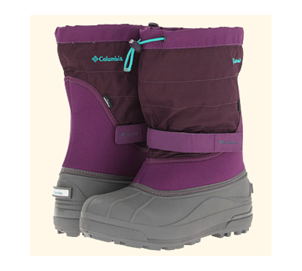 cab9e2a9c7fd Columbia Toddler Powderbug Plus II Snow Boots Glory Mayan Green - Shop now    Shoolu