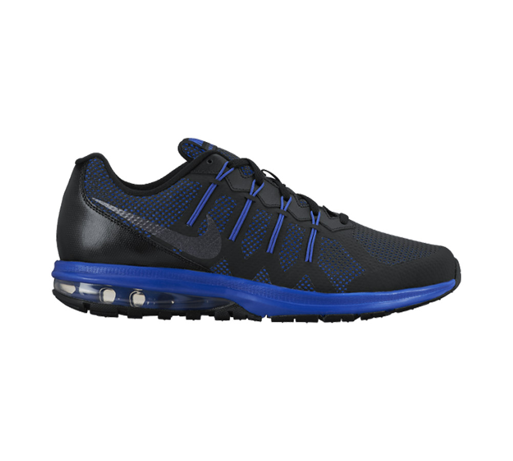 947ff824d2 Nike Men's Air Max Dynasty Running Shoe Black/Blue - Shop now @ Shoolu.