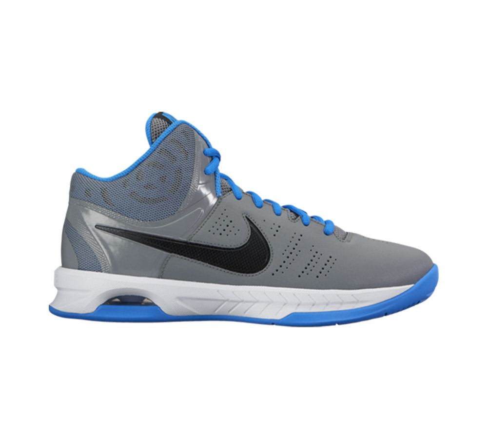 52f179518e5d Nike Men s Air Visi Pro VI Basketball Shoe Grey Blue - Shop now   Shoolu