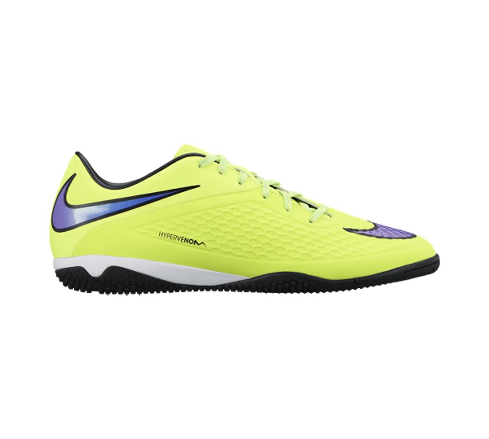 11c86f66d42 Nike Men s Hypervenom Phelon IC Soccer Cleat Volt Persian Violet - Shop now    Shoolu