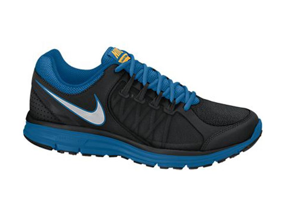 8c4565d716fa Nike Men s Lunar Forever 3 Running Shoes Black Blue - Shop now   Shoolu.