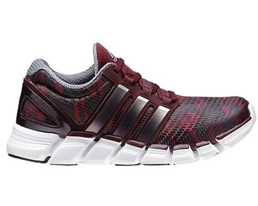 half off ccf84 76fa9 Adidas Mens Adipure Crazy Quick Running Shoes MaroonSilver - Shop now   Shoolu.