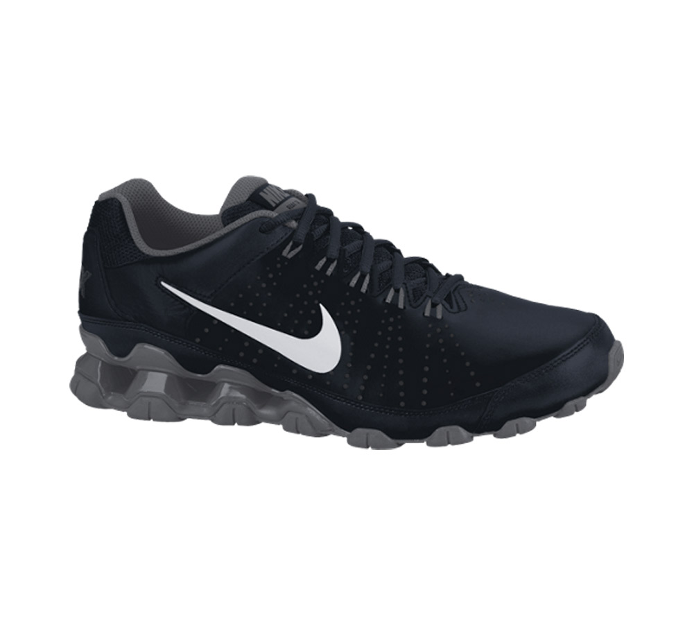 Nike Men s Reax 9 TR Cross Trainer Black Grey - Shop now   Shoolu. 286057ab0