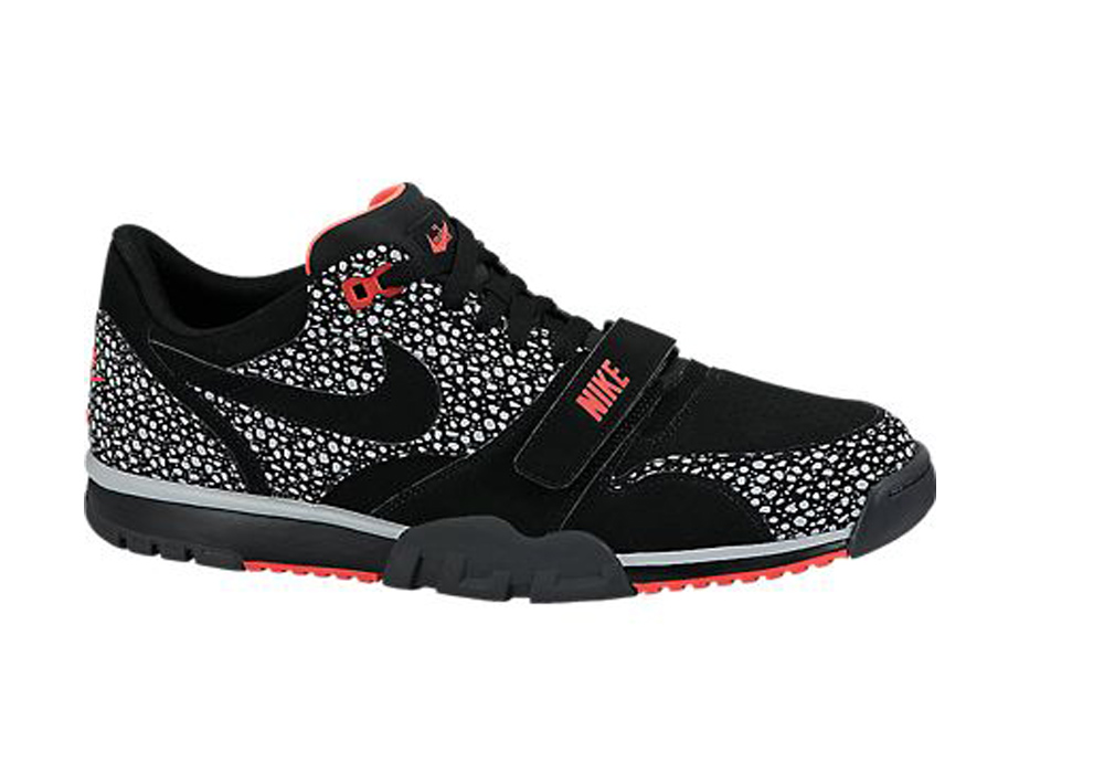 new product 0e390 c8741 Nike Men s Air Trainer 1 Low ST Sneakers Black Grey Crimson - Shop now