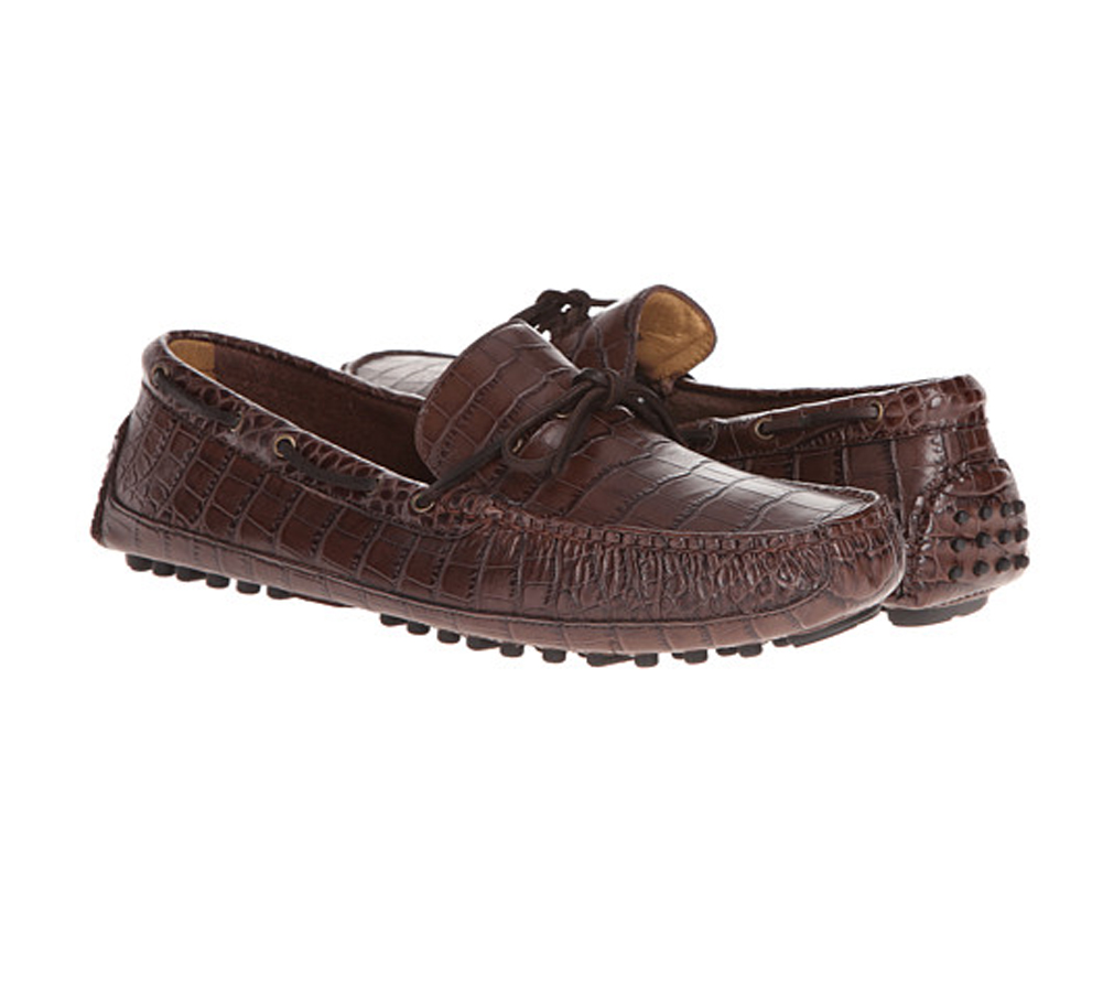 b15a549272c Cole Haan Men s Grant Canoe Camp Moc Chestnut Croc - Shop now   Shoolu.com