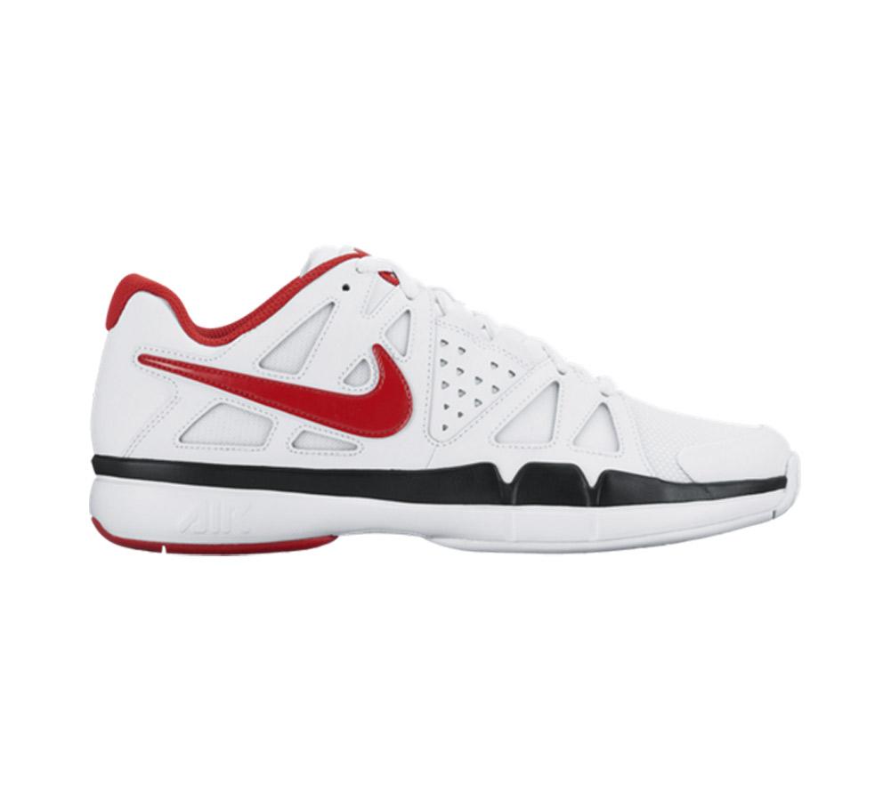 060ea7e7fb78 Nike Men's Air Vapor Advantage Tennis Shoe White/Red - Shop now @ Shoolu.