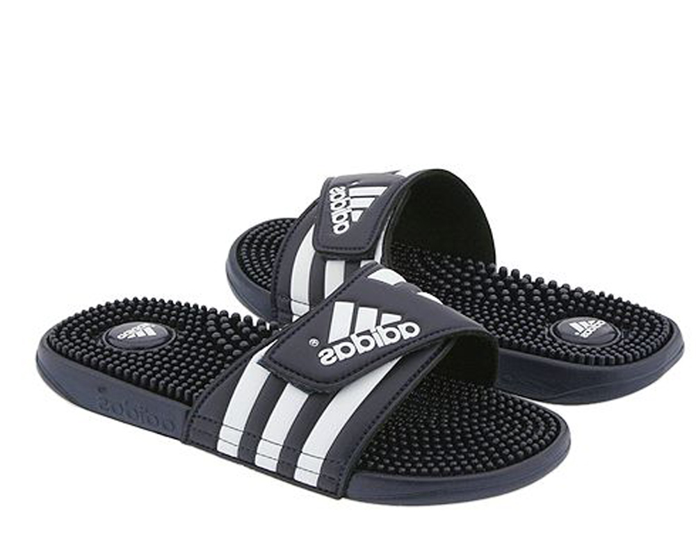 415ec5ffb4731 Adidas Men s Adissage Slide Navy White - Shop now   Shoolu.com