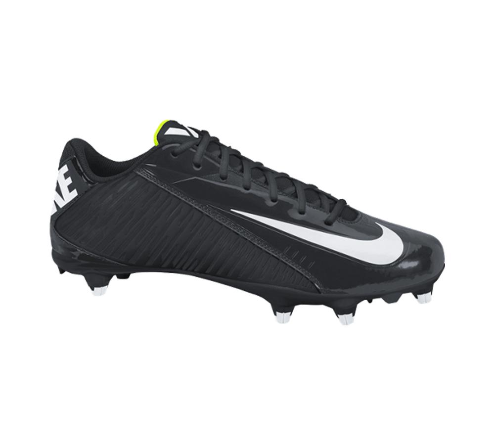 3212181a857 Nike Men s Vapor Strike 4 Low D Football Cleat Black White - Shop now