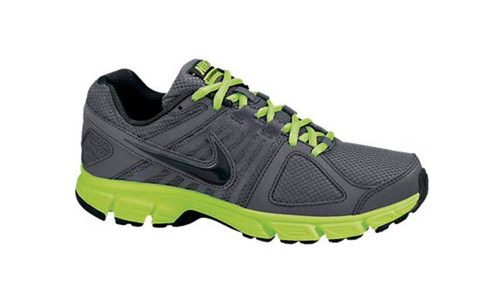 ce2aa909dc93c Nike Downshifter 5 Grey Volt Mens Running Shoes - Shop now   Shoolu.com