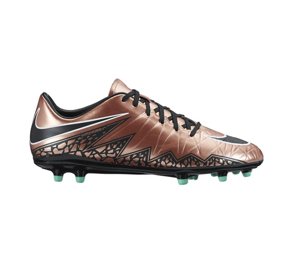 e26e1cd770dc Nike Men's Hypervenom Phelon II FG Soccer Cleat Mtlc Red Bronze - Shop now  @ Shoolu