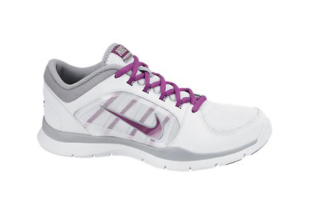 e0529062222d2 New Nike Women s Flex Trainer 4 Cross Trainers White Bright Grape - Shop  now
