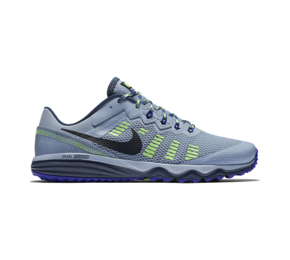 new arrival 36a0f daef3 Nike Men s Dual Fusion Trail 2 Running Shoe Blue Grey Concord - Shop now