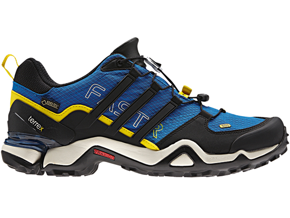bc7c7d345 Adidas Terrex Fast R GTX Blue Black Mens Hiking Shoes - Shop now   Shoolu