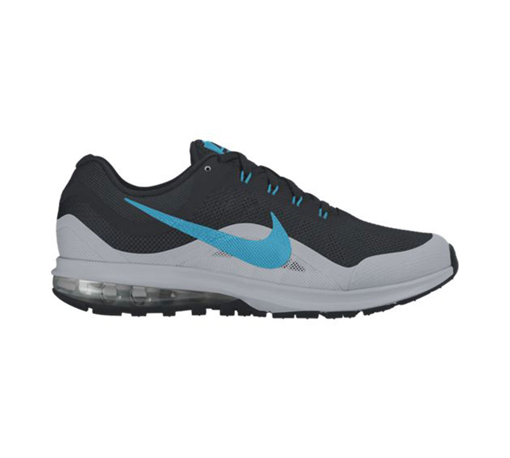 fca47cc5fd Nike Men's Air Max Dynasty 2 Running Shoe Black/Blue - Shop now @ Shoolu