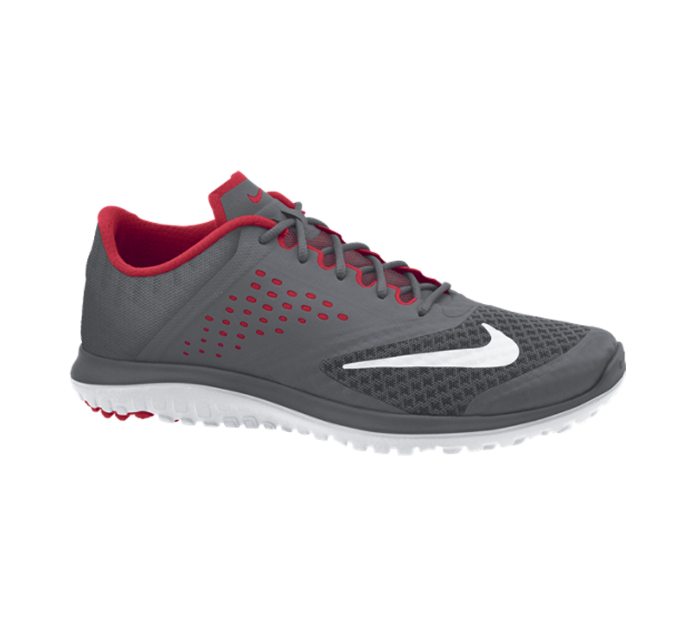 18e54b2fc8d Nike Men s FS Lite Run 2 Running Shoe Dark Grey Red - Shop now