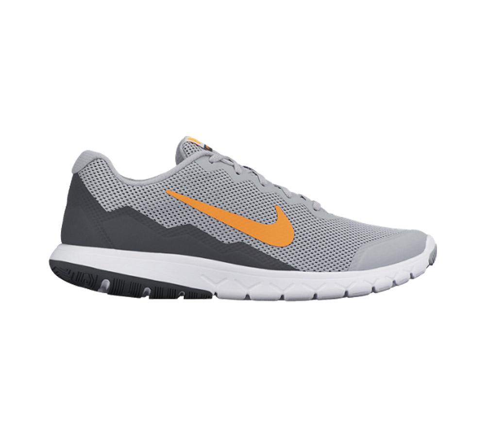 044988a20057 Nike Men s Flex Experience Run 4 Running Shoe Grey Total Orange - Shop now