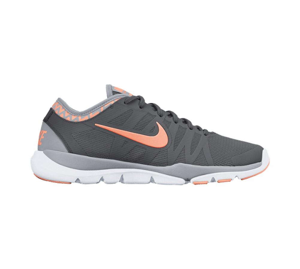 7b2473c3238b Nike Women s Flex Supreme TR 3 Cross Trainer Grey Sunset Glow - Shop now