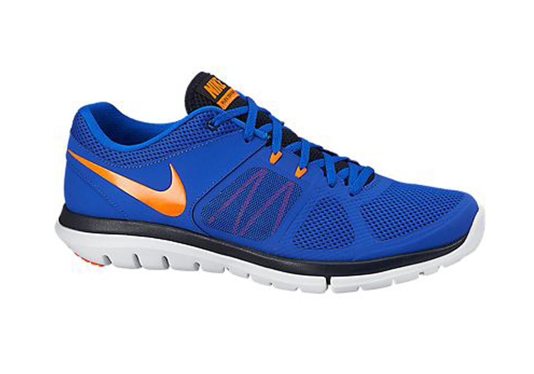 549f829b3c882 Nike Men s Flex 2014 Run Running Shoe Lyon Blue Total Orange - Shop now