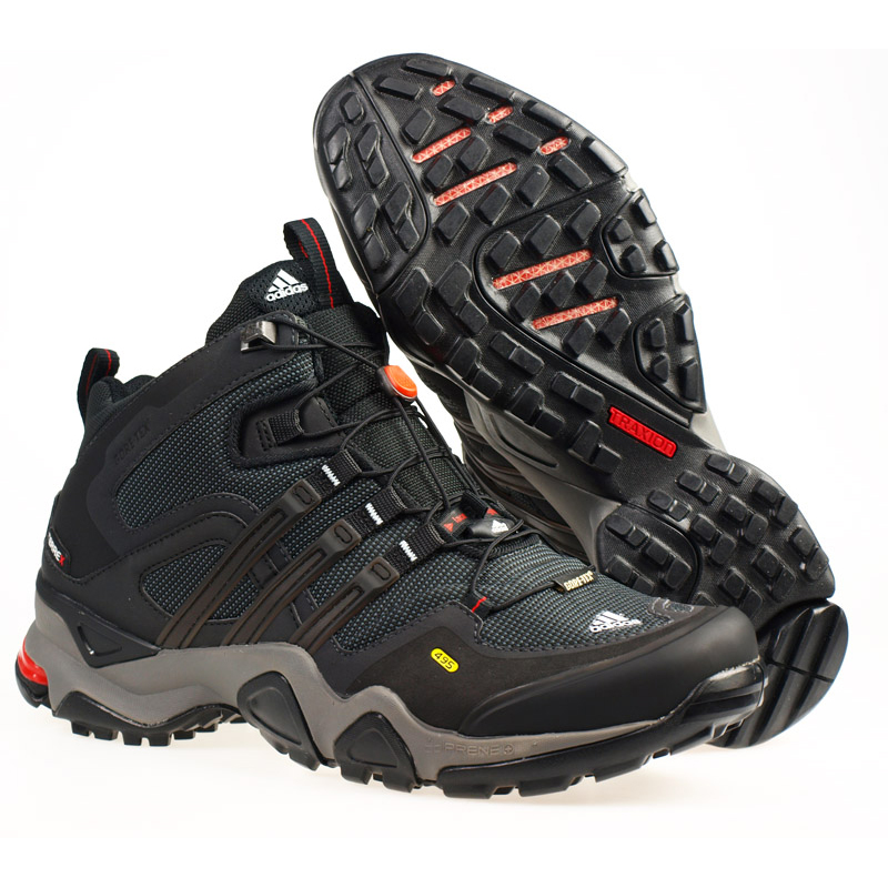 644a52c3ddf25d Adidas Terrex Fast X Mid GTX Black Mens Hiking Boots - Shop now   Shoolu.