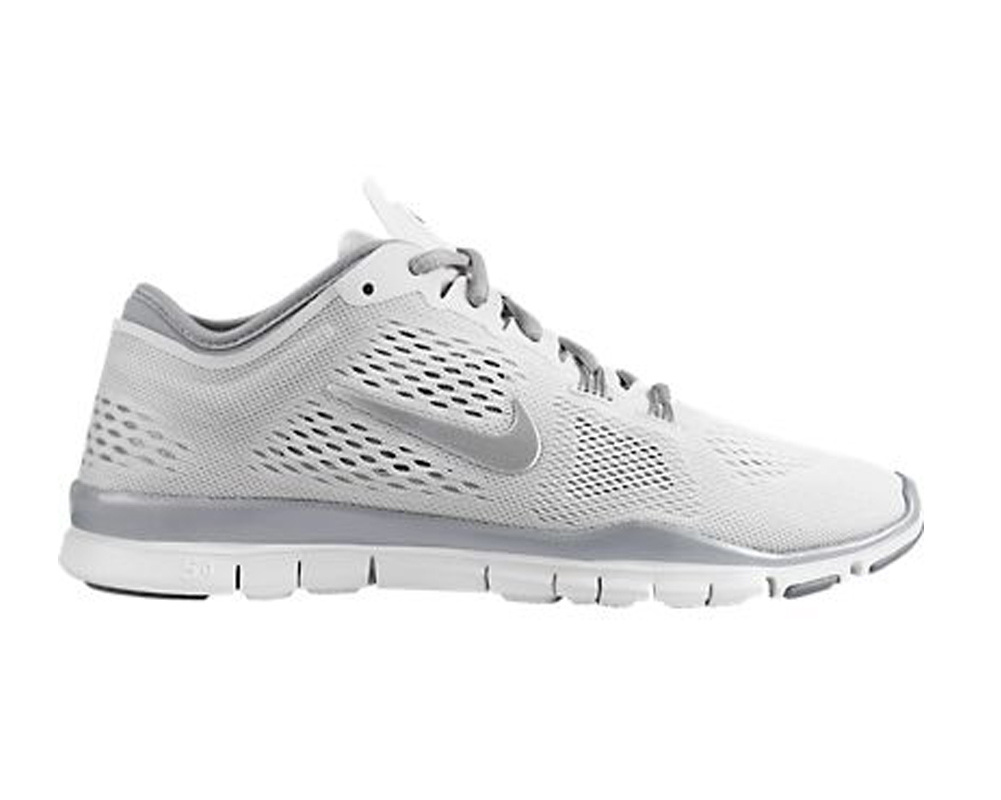 reputable site 1ed62 9bc99 Nike Women s Free 5.0 TR Fit 4 Cross Trainer White Silver - Shop now