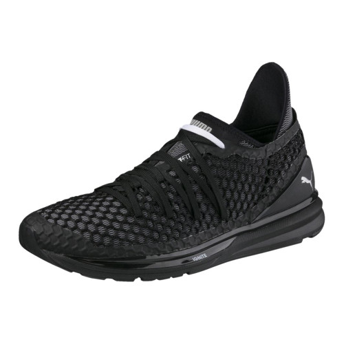 separation shoes 415d3 1d21f Puma Men's Ignite Limitless Netfit Sneaker Black/White