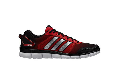 Adidas Men's Climacool Aerate 3 Running Shoes Blk/Silver/Scarlet
