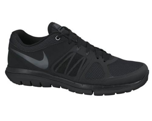 aa5f4b24 mens nike flex run 2014 running shoes black