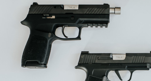 """Sig P320 Compact, X-Carry, & M18 3.9"""" Threaded 1/2x28 (Assorted Finishes)"""