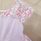 Heirloom Easter Attwell Limited Edition Set: Dress + Ruffled Bo Peep Shorts in Spring Blush