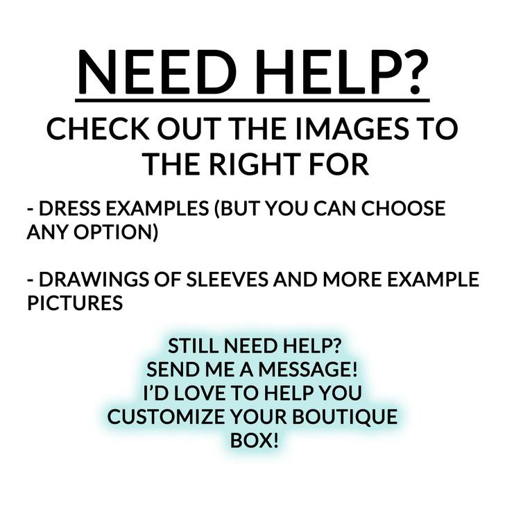 BX Dress - February Boutique Box