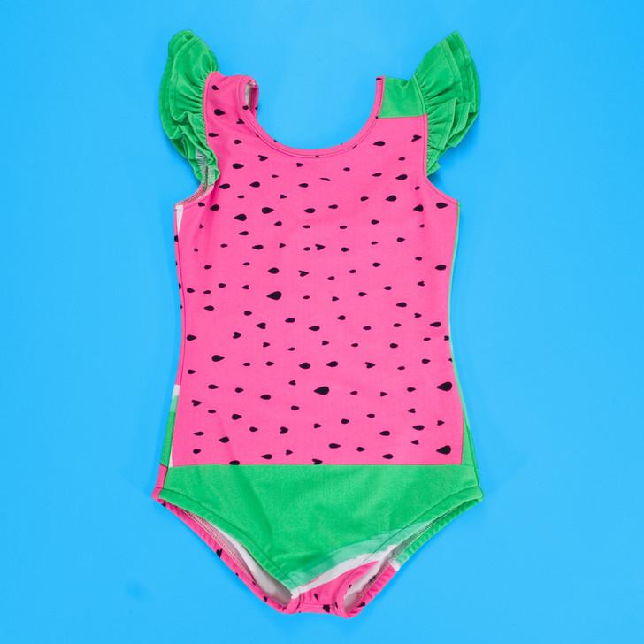 Swimwear - Splash Swimsuit in Abstract Watermelon
