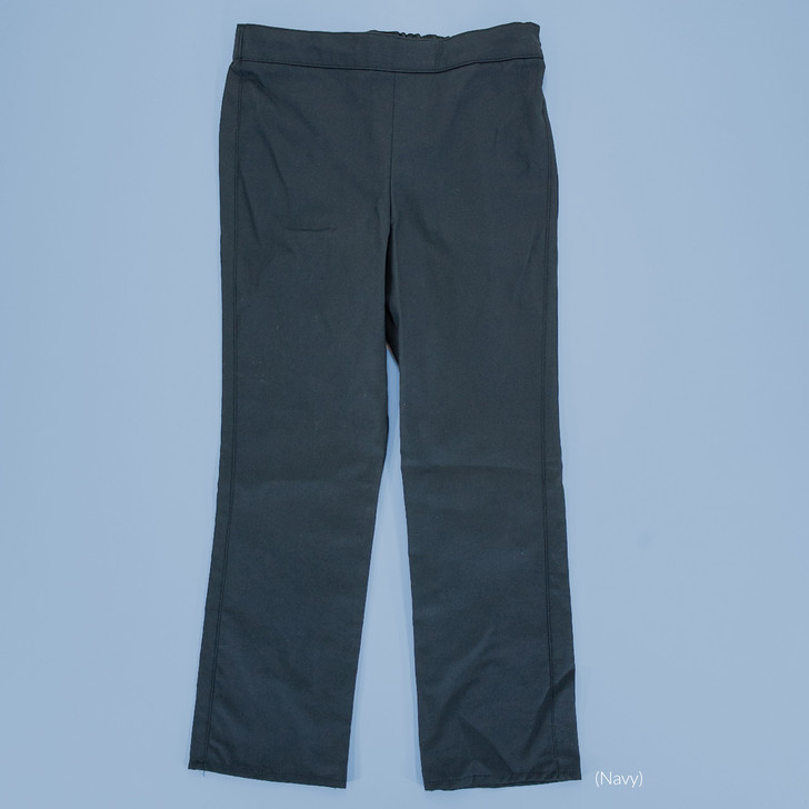 Uniform - Jane Pants - Straight - Adjustable Waist in Navy