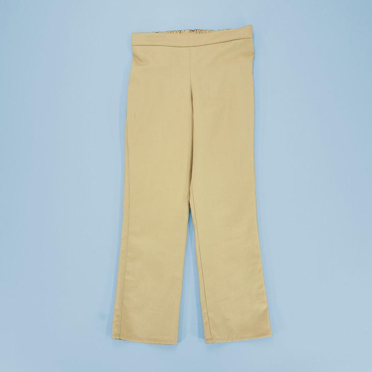 Uniform - Jane Pants - Straight - Adjustable Waist in Khaki