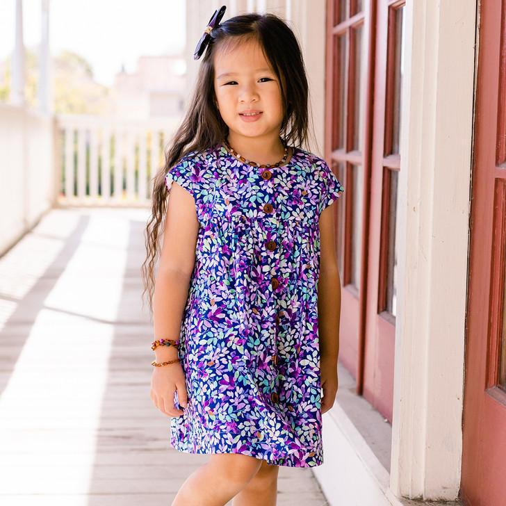 Mila Shirt Dress in Jacqueline Violet