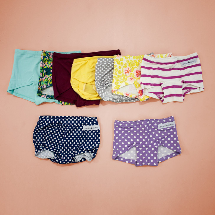 Undies Surprise Bundle - Mixed Styles + Mixed Colors - 5 pairs $65 value